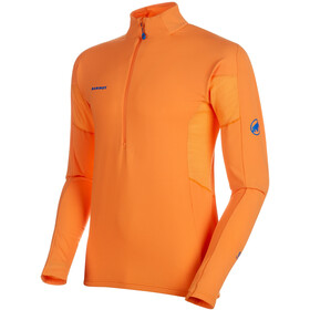 Mammut Moench Advanced T-shirt manches longues avec demi-zip Homme, sunrise